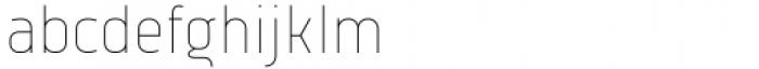Vogie Thin Narrow Font LOWERCASE