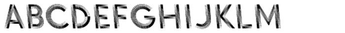 Voguing Backslanted Font LOWERCASE