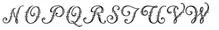 Vogus Font UPPERCASE