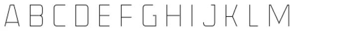 Volcano Gothic Inline Stroke Font UPPERCASE