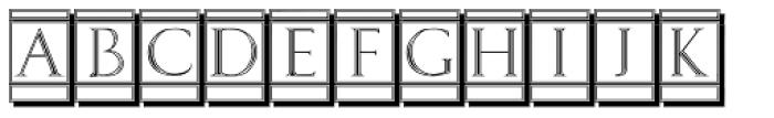 Volitiva Open Face N3 Font LOWERCASE
