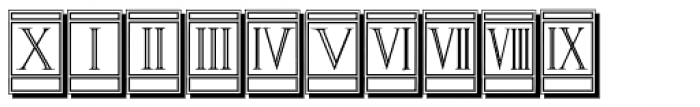 Volitiva Open Face N4 Font OTHER CHARS