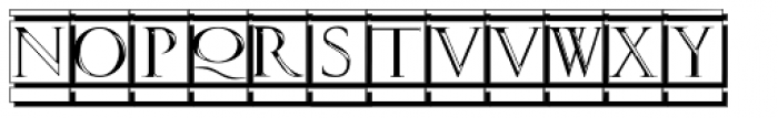 Volitiva White Seal Font UPPERCASE
