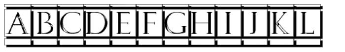 Volitiva White Seal Font LOWERCASE