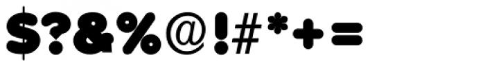Volkswagen Serial Black Font OTHER CHARS