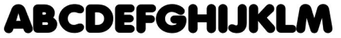 Volkswagen Serial Black Font UPPERCASE