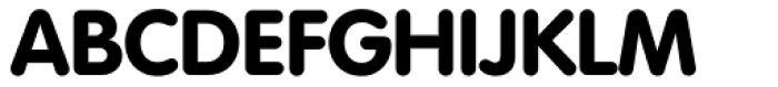 Volkswagen Serial ExtraBold Font UPPERCASE