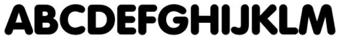 Volkswagen Serial Heavy Font UPPERCASE