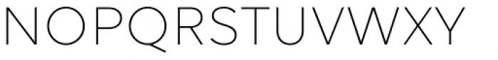 Volte Light Font UPPERCASE