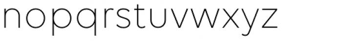 Volte Light Font LOWERCASE