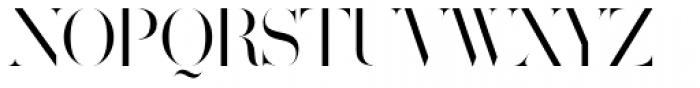 Volterra Font UPPERCASE