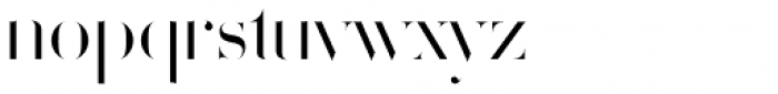 Volterra Font LOWERCASE