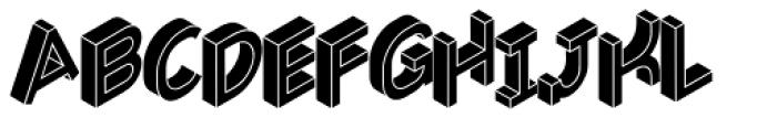 Volume Black Font LOWERCASE
