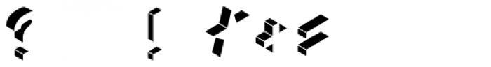 Volume Light Font OTHER CHARS