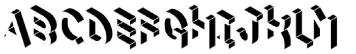 Volume Light Font UPPERCASE