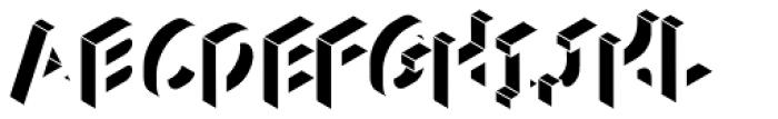 Volume Light Font LOWERCASE