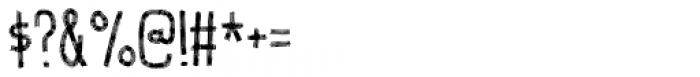 Volumen Regular Font OTHER CHARS