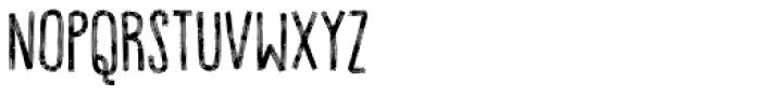 Volumen Regular Font LOWERCASE