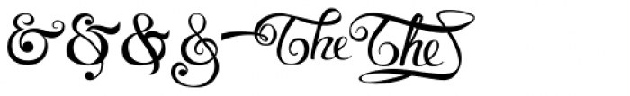 Voluptate Elements Font OTHER CHARS