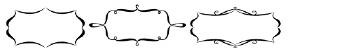 Voluptate Elements Font LOWERCASE