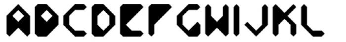 Vortex Light Font UPPERCASE