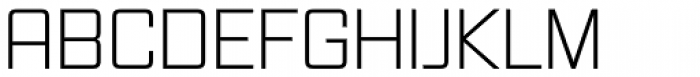 Vox Light Font UPPERCASE