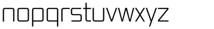 Vox Light Font LOWERCASE