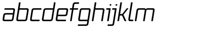 Vox Round Italic Font LOWERCASE