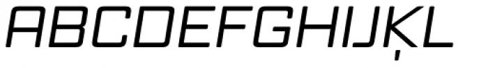 Vox Round Wide Medium Italic Font UPPERCASE