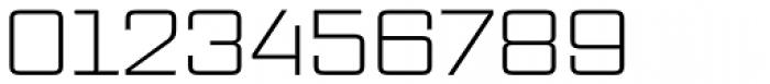 Vox Wide Light Font OTHER CHARS