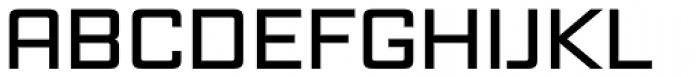 Vox Wide SemiBold Font UPPERCASE