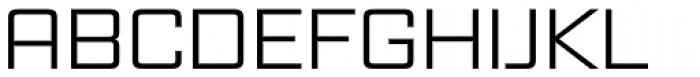 Vox Wide Font UPPERCASE
