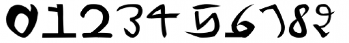 Voynich Font OTHER CHARS
