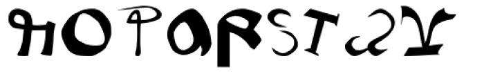 Voynich Font UPPERCASE