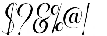 Voyntea Regular Font OTHER CHARS