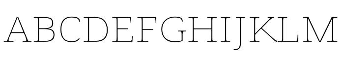 Voto Serif GX Font UPPERCASE