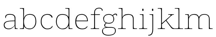 Voto Serif GX Font LOWERCASE