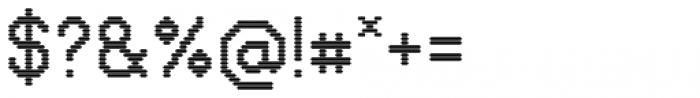 VP Pixel CRT Font OTHER CHARS
