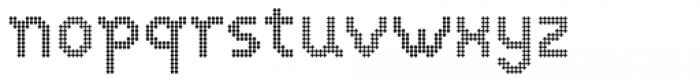 VP Pixel Dot Font LOWERCASE