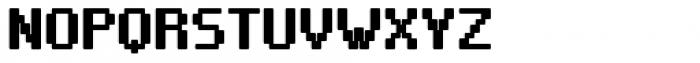 VP Pixel Pro Bold Font UPPERCASE