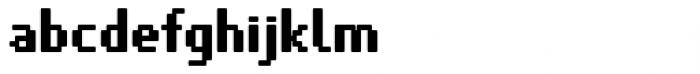 VP Pixel Pro Bold Font LOWERCASE