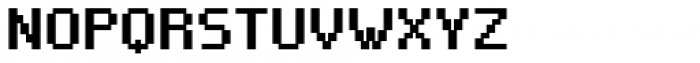 VP Pixel Pro Micro Font UPPERCASE
