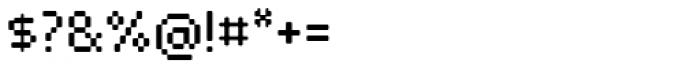 VP Pixel Pro Regular Font OTHER CHARS