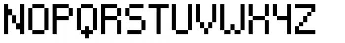 VP Pixel Simplified Font UPPERCASE