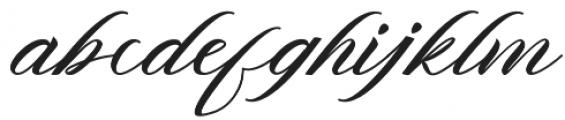 Vracter otf (400) Font LOWERCASE