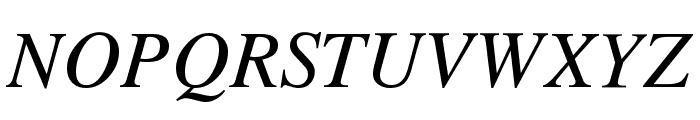 VremyaFWF Italic Font UPPERCASE