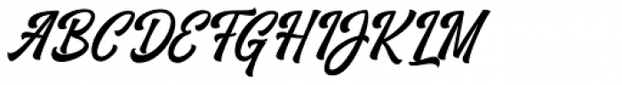 Vrindals Script Regular Font UPPERCASE