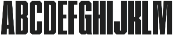 VTF Showcard Black otf (900) Font UPPERCASE