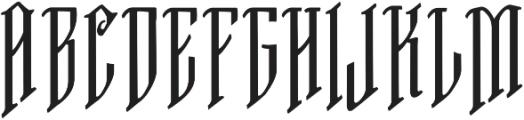 VTKS FREE SOUL-2 ttf (400) Font UPPERCASE