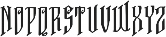 VTKS FREE SOUL-2 ttf (400) Font LOWERCASE